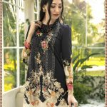 Pakistani Style Lawn Cotton Suit Dress Material with Patch